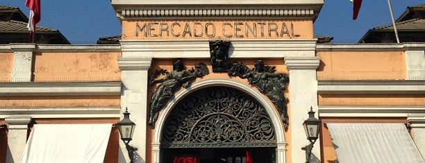 Mercado Central is one of Chile - A fazer.