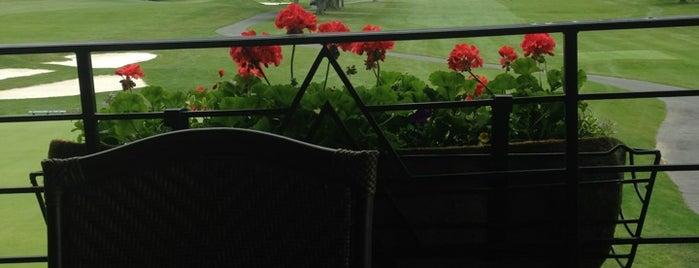 Linville Golf Club is one of สถานที่ที่ Drew ถูกใจ.