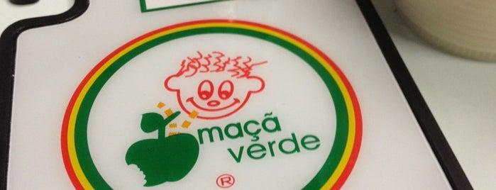 Maçã Verde is one of e um bom cabelereiro.