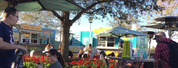 Food Truck Park is one of Disney Springs.