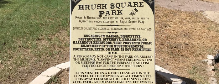 Brush Square Park is one of Austin To-Do.