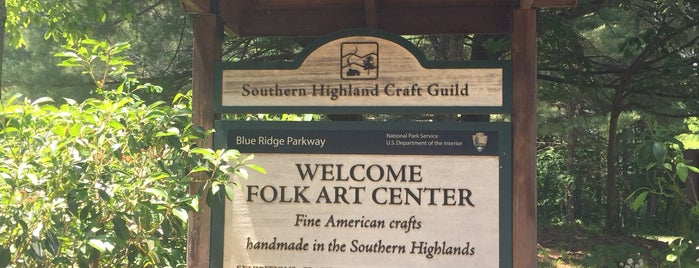 Southern Highland Craft Gallery is one of Asheville.