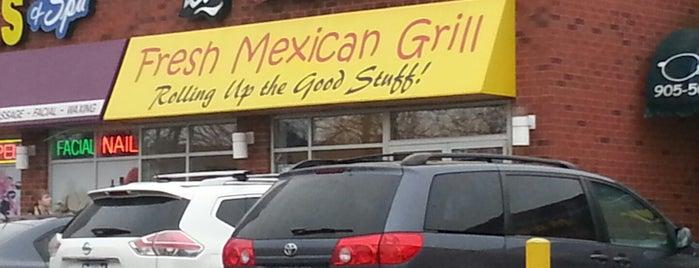 Bar Burrito is one of Restaurants - Mississauga/Brampton/Oakville.