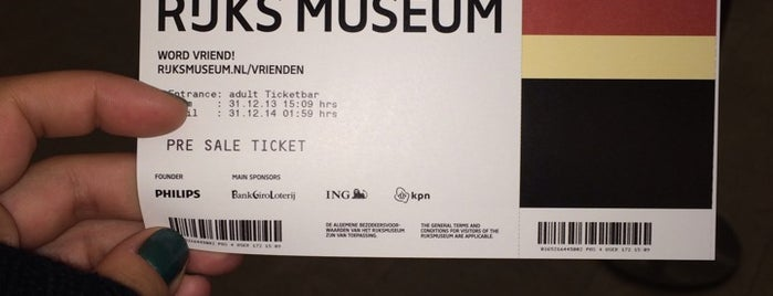 Rijksmuseum is one of Netherlands, Belgium, and Germany.