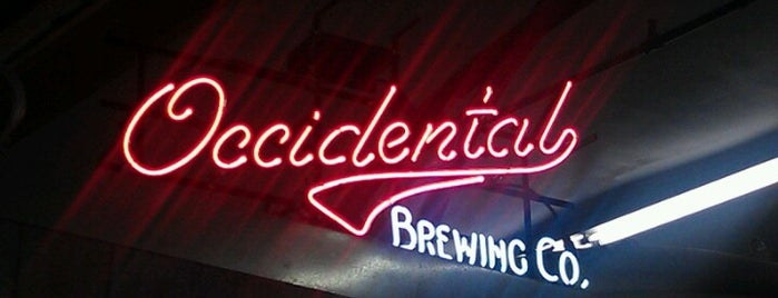 Occidental Brewing Company is one of Portlandia.