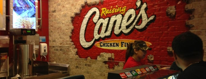 Raising Cane's Chicken Fingers is one of Texas.