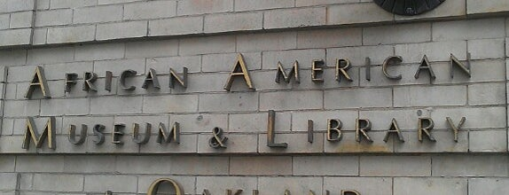 African American Museum & Library at Oakland is one of East Bay Attractions.