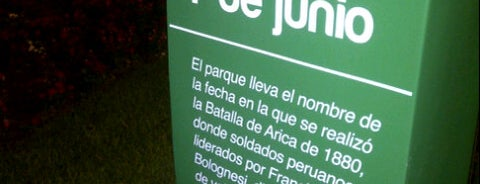 Parque 7 de Junio is one of Peru.