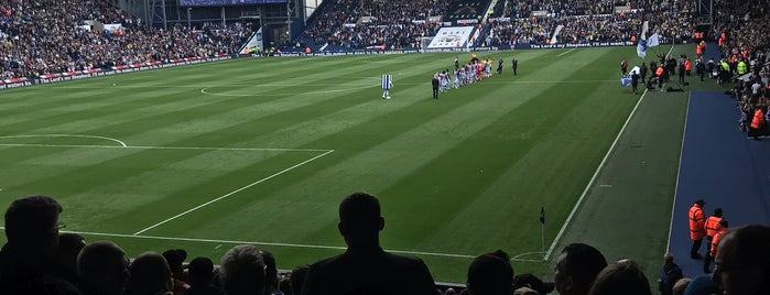 The Hawthorns is one of EUROPA.