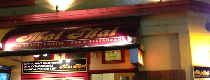 Mai Thai is one of NEW ZEALAND.