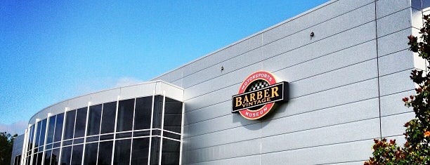 Barber Motorsports Park is one of Steel City.