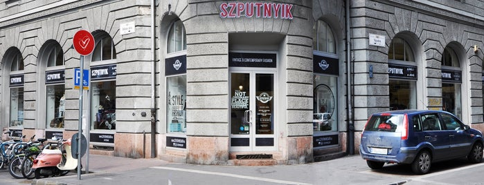 7982781b63 Szputnyik Shop D20 is one of Budapest.