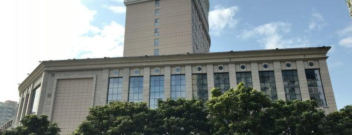 Huihua garden Hotel is one of Posti che sono piaciuti a Steev.