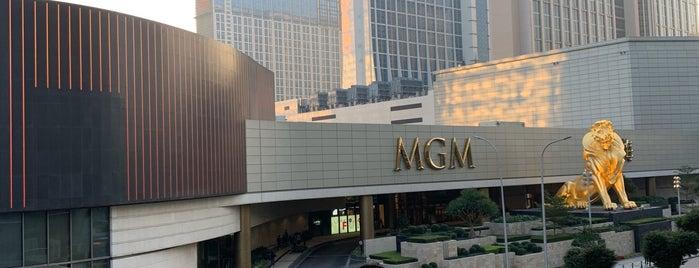 MGM Cotai is one of Lieux qui ont plu à SV.