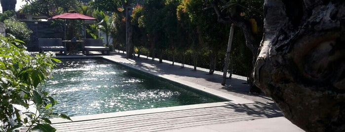 D'sawah Luxury Private Villas is one of Andie's Liked Places.