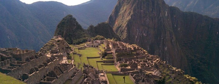 Machu Picchu is one of Go Ahead, Be A Tourist.