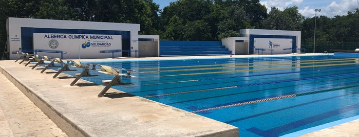 Unidad Deportiva Riviera Maya is one of Teuctzintli 님이 좋아한 장소.