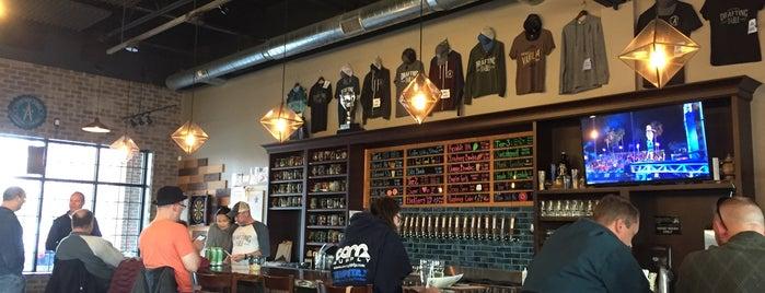 Drafting Table Brewing Company is one of Tempat yang Disukai David.