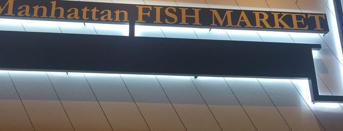 Manhattan Fish Market is one of Locais curtidos por Jeremy.