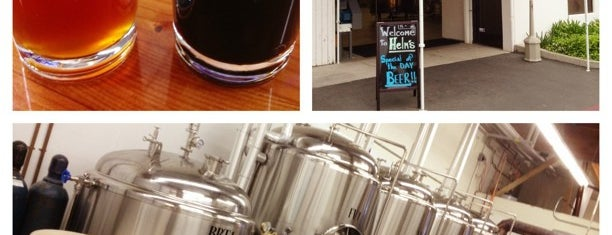 Helm's Brewing Co. is one of California Breweries 5.