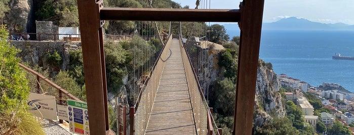 Windsor Suspension Bridge is one of Gibraltar.