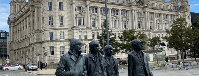 The Beatles Statue is one of สถานที่ที่บันทึกไว้ของ Sevgi.