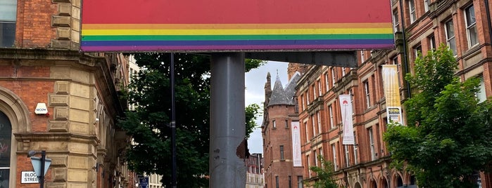 The Gay Village is one of Manchester.
