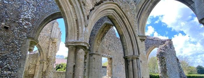 Creake Abbey is one of Norfolk.