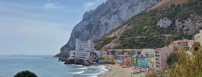Catalan Bay is one of Gibraltar.