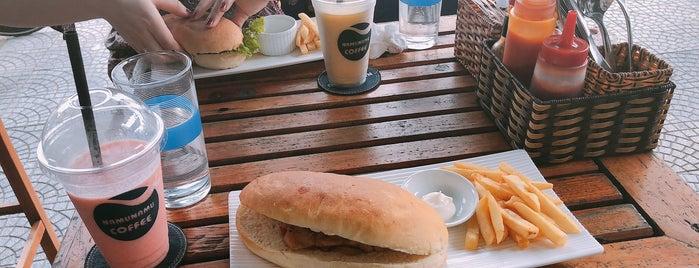 Namunamu Coffee is one of Lugares favoritos de Chris.