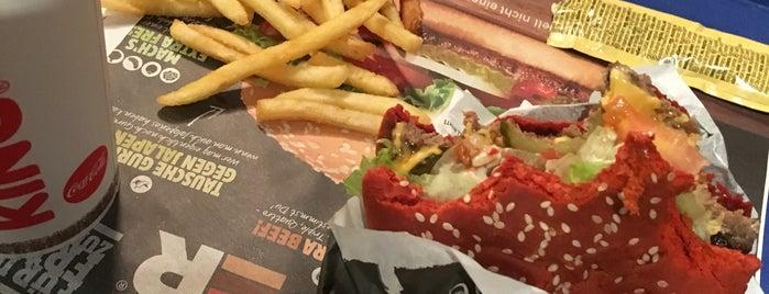 Burger King is one of Om Nom Nom.