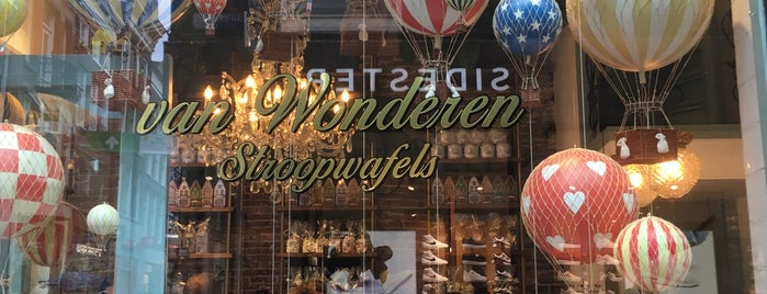 van Wonderen Stroopwafels is one of Amstersam.