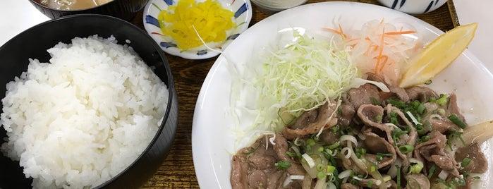 めんとく is one of Must-visit 和食店 in 山口市.