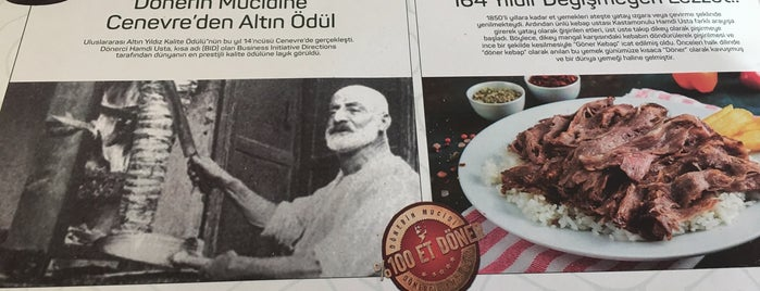 Dönerci Hamdi Usta is one of Et:).