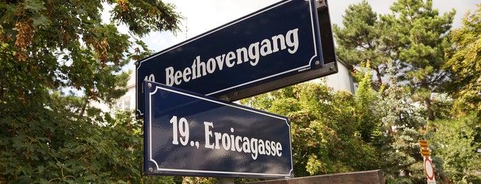 H Beethovengang is one of Lieux qui ont plu à Paris.