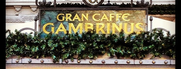 Gambrinus is one of Coffee.