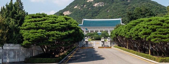 Cheongwadae is one of Orte, die Darwich gefallen.
