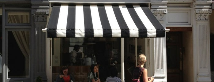 The Monocle Café is one of #londontour.