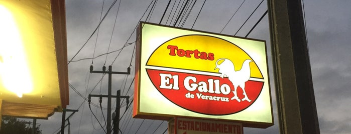 Tortas El Gallo is one of Locais curtidos por Dalith.
