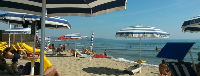 Lido Roma is one of Catania Beaches.