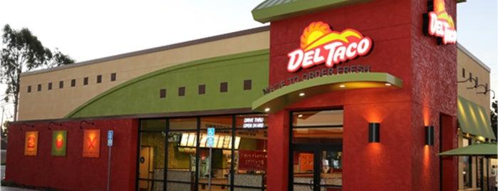 Del Taco is one of สถานที่ที่ Shamika ถูกใจ.