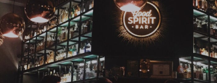 GoodSpirit Whiskey & Cocktail Bar is one of BP Valentine.