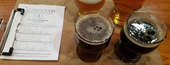The Alementary is one of NJ Breweries.