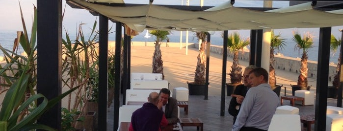 Boo Beach Club is one of Terrazas Barcelona.