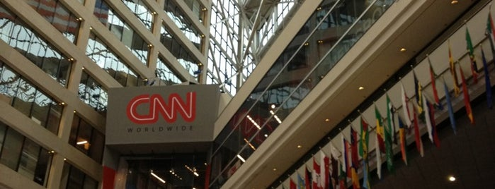 CNN Center is one of ATL.