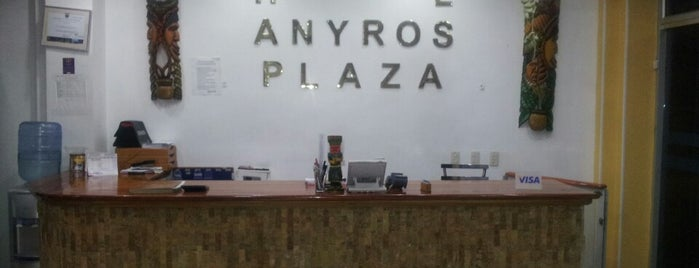 Hotel Anyros Plaza is one of Locais curtidos por Xavi.