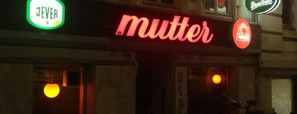 mutter is one of HAM × Clubs × Bars.