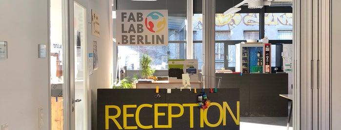 Fab Lab Berlin is one of Berlin.
