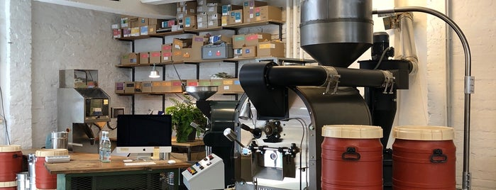Five Elephant Roastery is one of coffee coffee coffee.