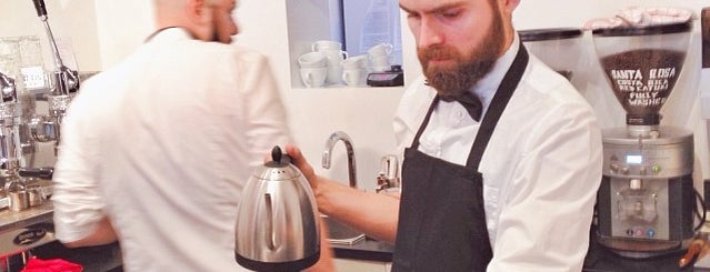 Stockholm Espresso Club is one of CoffeeGuide..